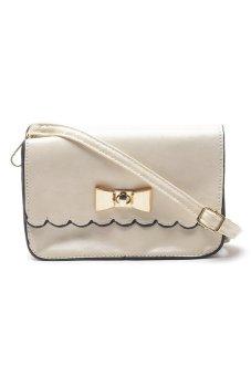 Sugar Lou Clutch Bag (White)