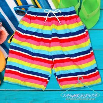 Summer Couple Casual Shorts Beach Wear Swim Wear - 2