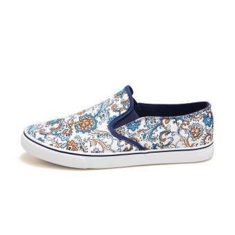 Summer Fashion Classical Pattern Shoes - White - picture 2