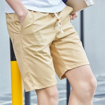 Summer Men Sport Fashion Casual Shorts-Khaki - (Intl) Price Philippines