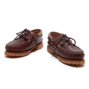 Summer Men's Timberland 3-Eye Classic Lug Shoes Burgundy Pull-Up50009 EU40-45 - intl - 3