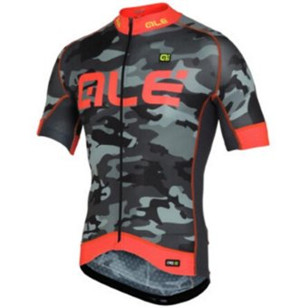 Summer Short Sleeve ALE Quick Dry Cycling Jersey Bike Clothing Bicycle Clothes X29-02 - intl