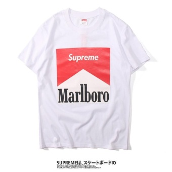 Supreme original Men's print T-shirts, men's casual casual loversshort sleeve