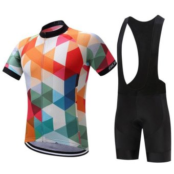SUREA 2017 Cycling Sets Reflective Cycling Clothing/mtb MountainRopa Ciclismo KTM uniform Summer Cycling Jersey men X40-03 - intl Price Philippines