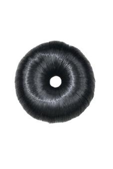 Synthetic Fiber Hair Bun (Black)