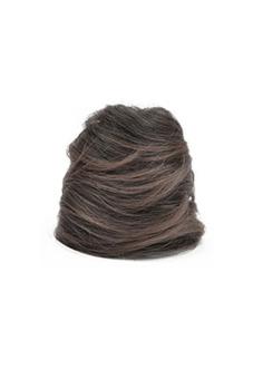 Synthetic Fiber Hair Bun (Dark Brown)