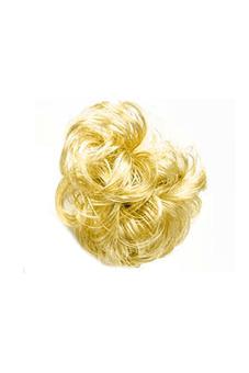Synthetic Fiber Hair Bun Scrunchie (Blonde) - picture 2