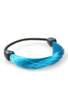 Synthetic Fiber Hair Rope Holder (Lake Blue)