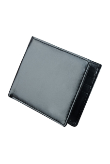 Synthetic Leather Wallet (Black)