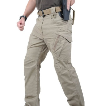Tactical Pants IX9 Mens Military Combat Assault Outdoor Sport Training Army Trousers - intl