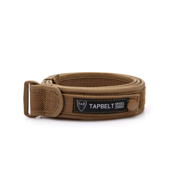 Tactical Strap/Belt Military Equipment Mens Belts Luxury Outdoor Sport High Quality Brown (Intl)