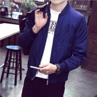 Tailored Bomber Jacket for men (Royal Blue) Price Philippines