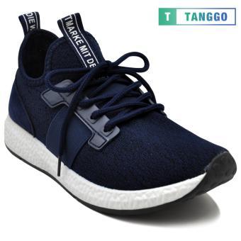 Tanggo 1979 Korean Fashion Sneakers Breathable Canvas Shoes for Men (navy blue) - 2