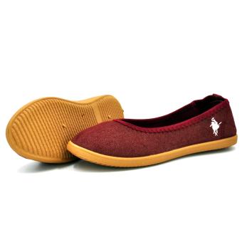 Tanggo 2016-16 Women's Flat Shoes Casual Doll Shoes (Maroon) - 3