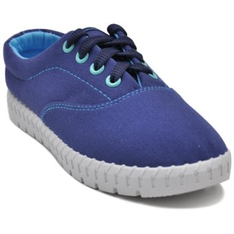 Tanggo Alena Fashionable Sneakers Women's Rubber Shoes (blue)