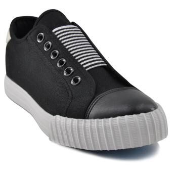 Tanggo Clint Fashion Sneakers Men's Flat Shoes/Slip-On (black)