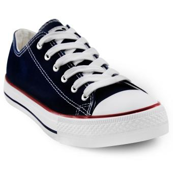 Tanggo Drew Fashion Sneakers Men's Casual Rubber Shoes (navy blue)