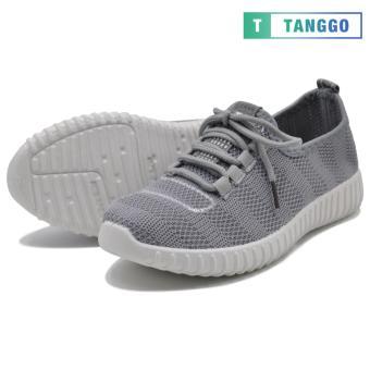 Tanggo Fashion Mesh Sneakers Shoes for Women 3533 (Grey/white) - 2