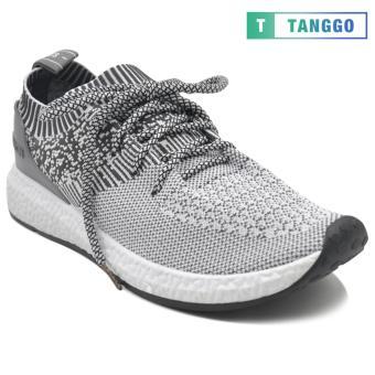 Tanggo Fashion Sneakers Korean Canvas Shoes for Men 923 (white/grey) - 3