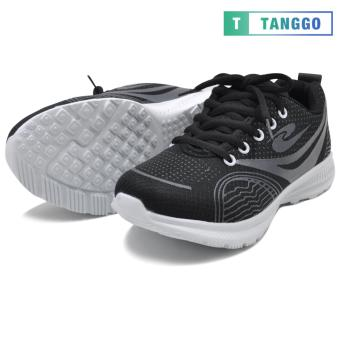 Tanggo Fashion Sneakers Rubber Shoes for Women - ZF-2033 (black) - 3