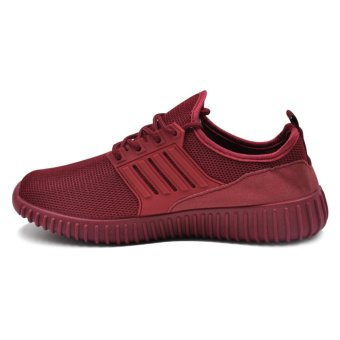 Tanggo Kathy Fashion Sneakers Women's Rubber Shoes (maroon) - 2