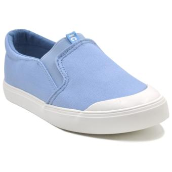 Tanggo Keana Flat Shoes Women's Slip-On Women's Fashion Sneakers(sky blue)