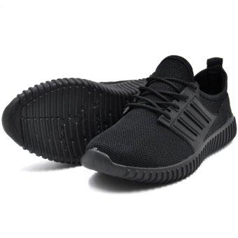 Tanggo Leo Fashion Sneakers Men's Rubber Shoes (black) - 3