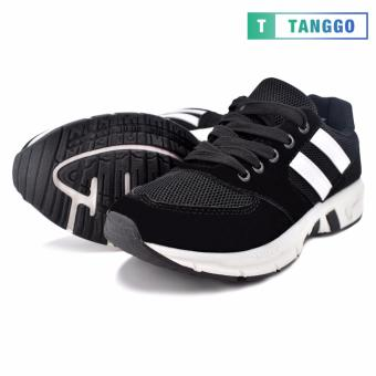 Tanggo Women's Sneakers Rubber Shoes B29 (black)