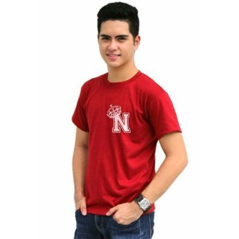 Tanshirts King's Initial N Tee (Maroon) - picture 2
