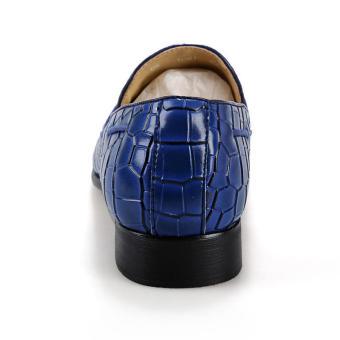 Tassel Slip-Ons Flat Shoes - Blue