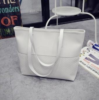 TB Ladies handbags shoulder messenger bag retro handbag White - intl - 2