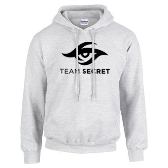 TEAM SECRET Design Hoodie Jacket DOTA 2 (Grey)