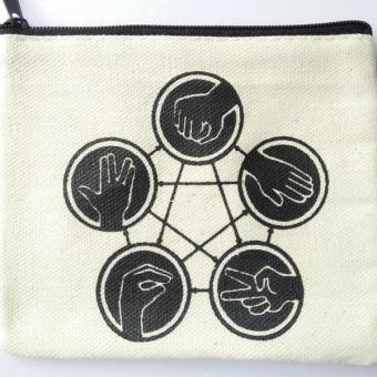 The Big Bang Theory Rock Paper Scissors Lizard Spock Coin Purse Price Philippines