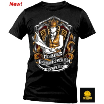 The Builder Apparel - DESIGN, ESTIMATE - Civil Engineering Shirt byXtreme Designs