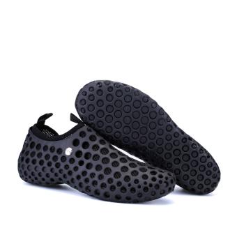 The Lazy Man Set Foot Beach Shoes (Black)