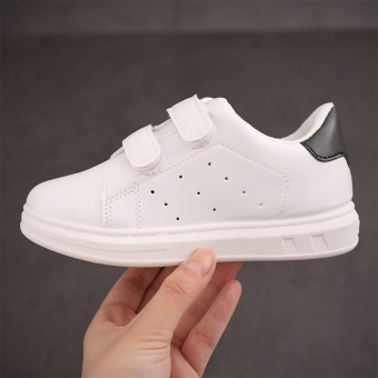The new children's sports shoes, girls and boys shoes, white shoesbreathable - intl - 3