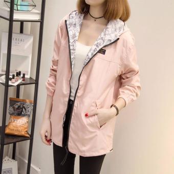 The new coat female spring and autumn windbreaker - intl - 5