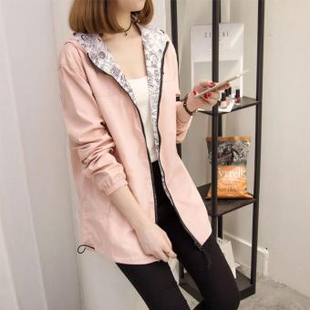 The new coat female spring and autumn windbreaker - intl - 3