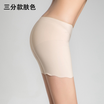 Three points viscose fibre anti-short thin bottoming pants safety shorts (Three points color)