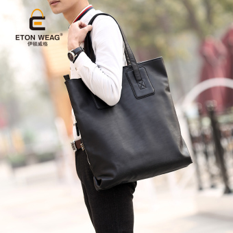 Tidog The new version of big bag wrapping quality leisure bag tide Travel Bag Shoulder Bag tote bag - intl