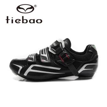 Tiebao R1268 Outdoor Athletic Racing Road Cycling Shoes, AutoLock/SelfLock Bike Shoes, SPD/SL/LOOK-KEO Cleated Bicycle Shoes - intl