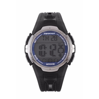 Timex Men's Black Rubber Strap Watch T5K359