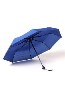 Tokio Auto Open-Close Umbrella Set of 2 (Navy Blue/Black) - picture 2