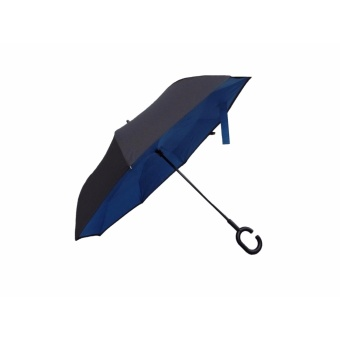 Tokio AUTOMATIC Inside Out Inverted Umbrella with Windbreaker(Blue)