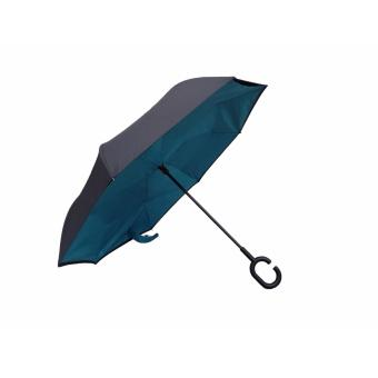 Tokio AUTOMATIC Inside Out Inverted Umbrella with Windbreaker(Teal)