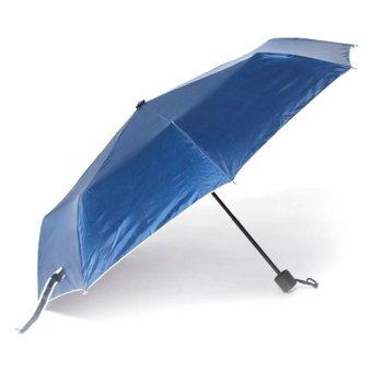 Tokio Windproof Folding Umbrella (Navy Blue)