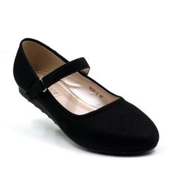 Tokkyo 1605-2 Takota School Shoes (Black) - 2