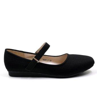 Tokkyo 1605-2 Takota School Shoes (Black) - 4