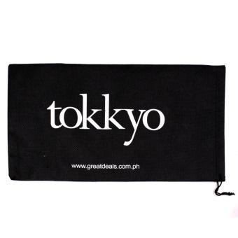Tokkyo Shoes Women's Hazel D-11 Flat Gladiator Sandals (Black) - 5