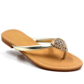 Tokkyo Shoes Women's Hermione Flat Sandals (Silver) - 3